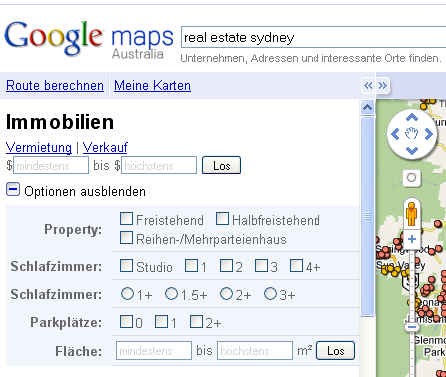 Google-Maps-real-estate-sydney