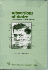 SUBVERSIONS OF DESIRE: ON NICK JOAQUIN