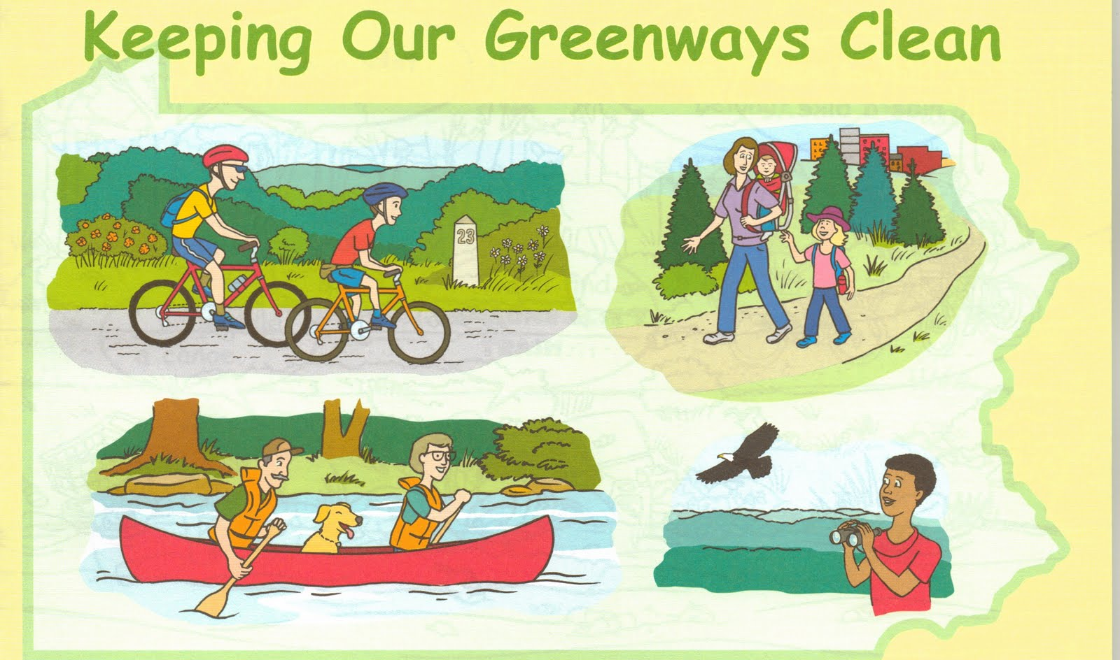 Keeping Our Greenways Clean Grade School Publication Now Available