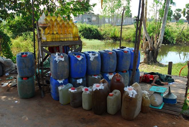 Gasolinera principal, Siem Reap