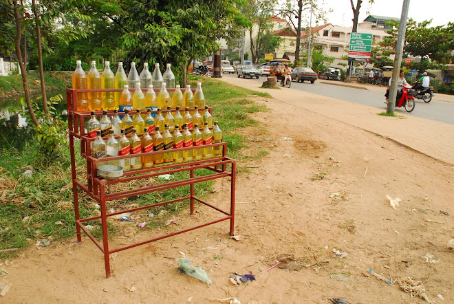 Gasolinera secundaria, Siem Reap