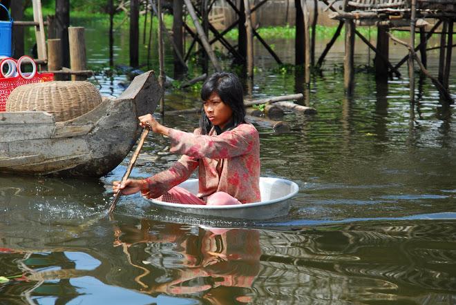 Pueblo flotante Chong Kneas
