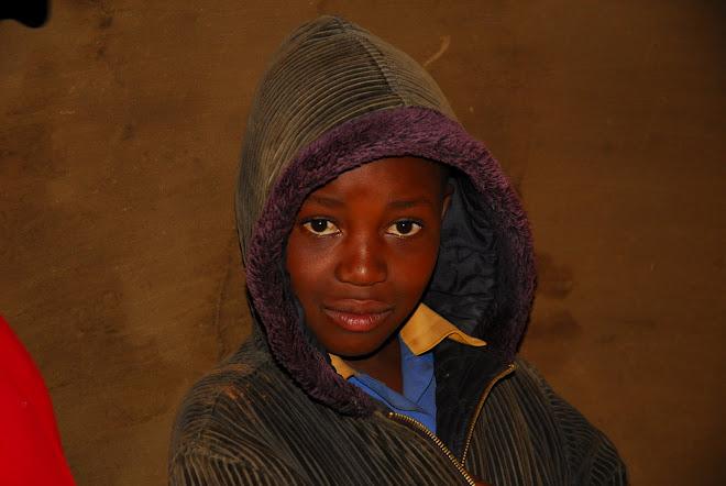 Niña de Lesotho