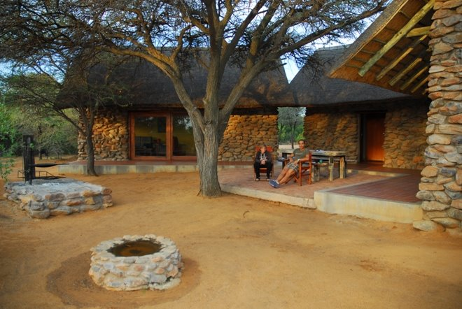 Bungalow en la reserva Witsand