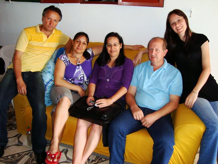 Amigos e irmãos que me visitaram