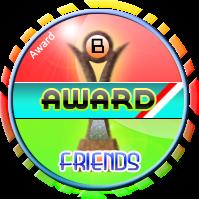 award dari teman-teman