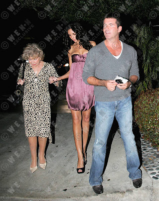 simon cowell and terri seymour. Simon Cowell and longtime