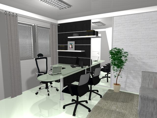 decoracao de interiores para escritorios : decoracao de interiores para escritorios:Decoração de interiores – Studio Redecorando: Escritório decorado