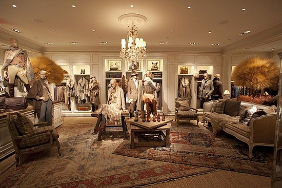Fashion Inspiration For Women Ralph Lauren Store Opening In Nyc I Wish I Have Home Like This
