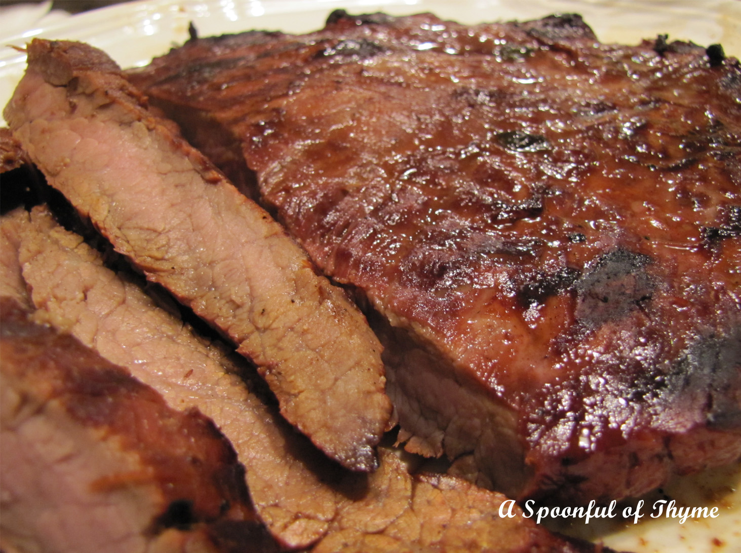 Spoonful of Thyme: Marinated Grilled Flank Steak
