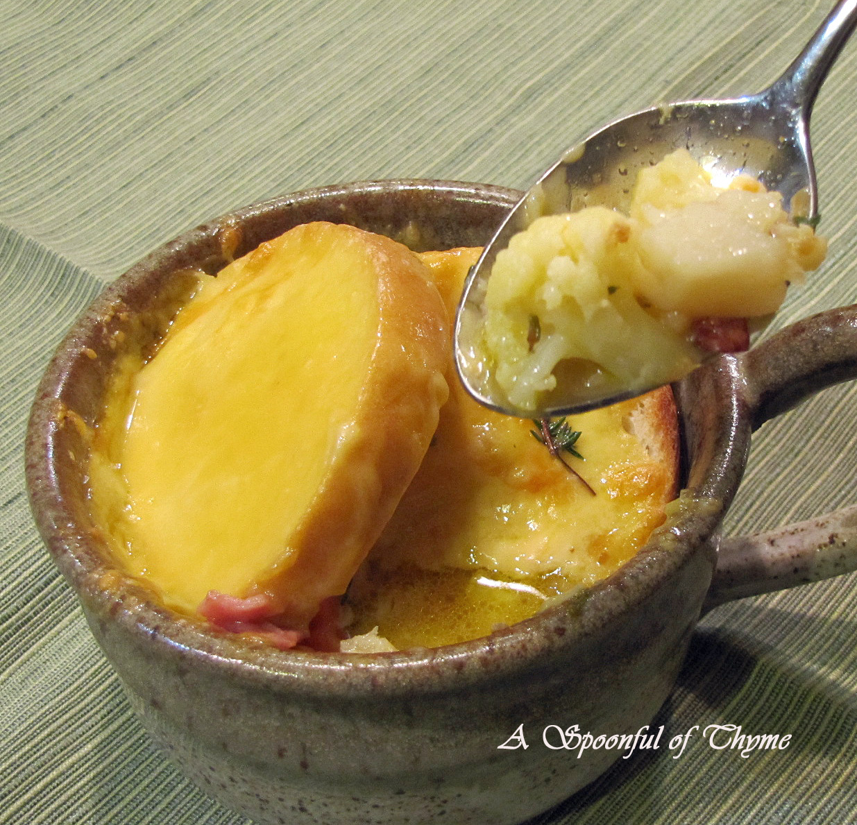Spoonful of Thyme: Dutch Cheese Soup