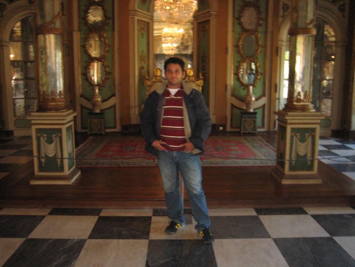 PALACIO EM QUELUZ  SINTRA PORTUGAL