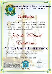 JUIZ DO TRIBUNAL ECLESIÁSTICO
