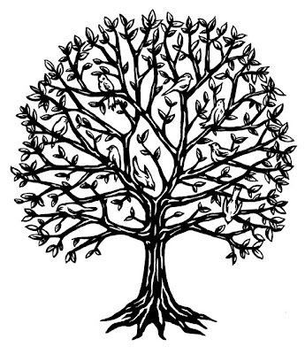 The second of my Tree Tattoo Designs is this bird in the tree tattoo design.