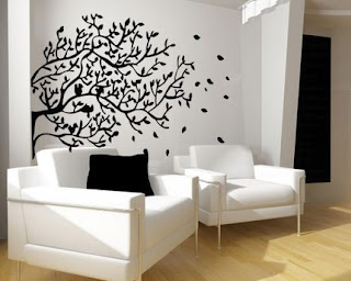Decoración con vynil o vinilo, decorar pared -  Decorating the walls with vinyl