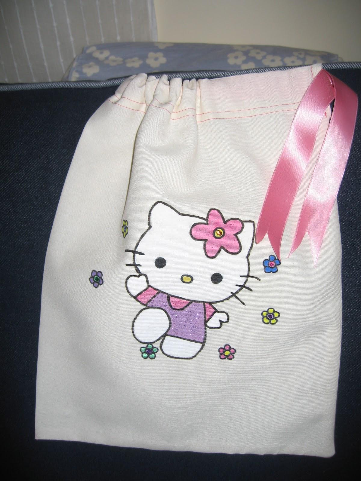 Artes manuales bolsas decoradas tela ni os - Bolsas de tela para ninos ...