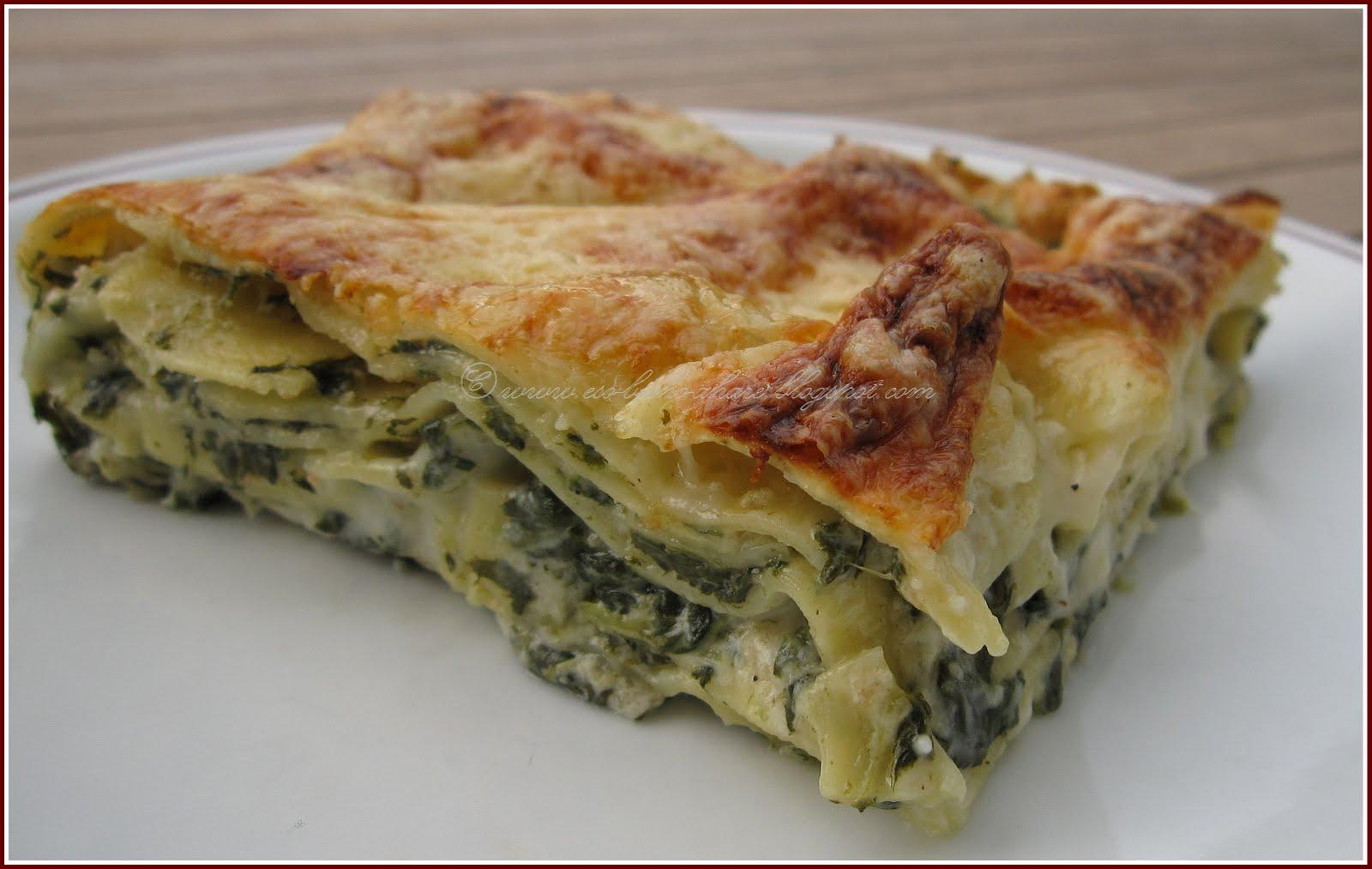 Taste Buds: Spinach lasagna
