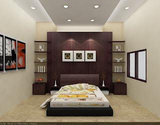 design interior kamar tidur on Pelaksana Architectural & Design Interior: Kamar Tidur Bp.Agus