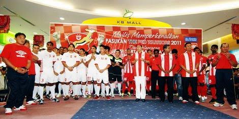 Berikut adalah senarai pemain-pemain @skuad Kelantan bagi tahun 2011