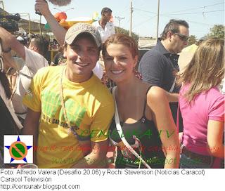 Rochi Stenson  y Alfredo Valera 'Carnaval de Barranquillas'