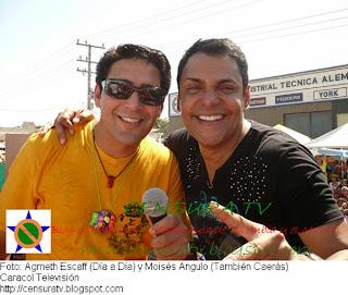 Agmeth Escaff y Moisés Angulo 'Carnaval de Barranquilla'