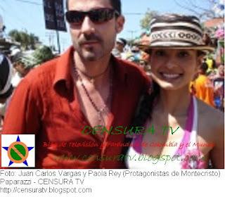 Paola Ray y Juan Carlos Vargas en el Caranaval de Barranquilla