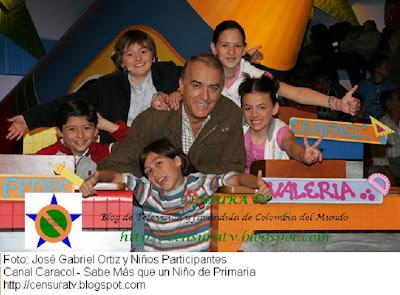 Jose Gabriel Ortiz en ¿Sabe mas que un niño de primaria?