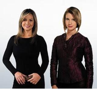 Claudia Gurisatti y Vicky Dávila