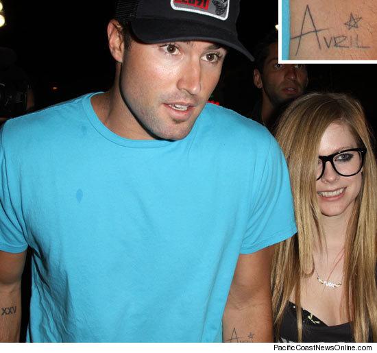 Avril Lavigne Brody Jenner Kissing. Avril Lavigne and Brody Jenner
