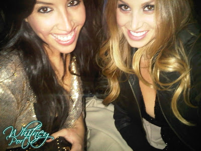 whitney port fashion show. Whitney Port: Night Out in NY