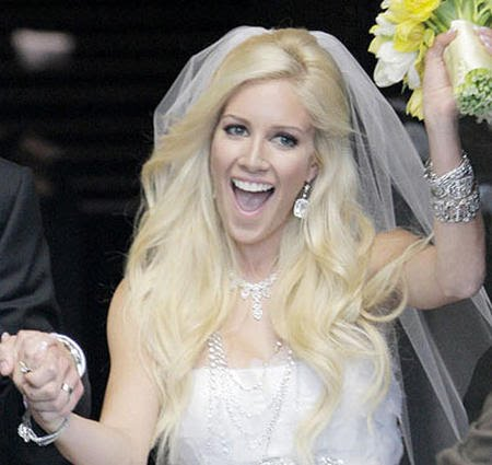 heidi montag wedding. hot heidi montag wedding