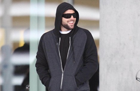 AVRIL LAVIGNE AND BRODY JENNER DECEMBER 2010