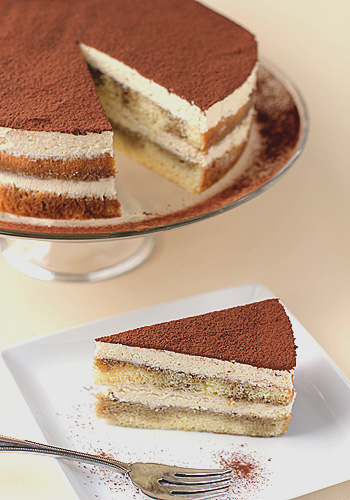Chocolate Sponge Cake For Tiramisu