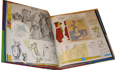 Hanna Barbera Treasury Yogi Bear pages