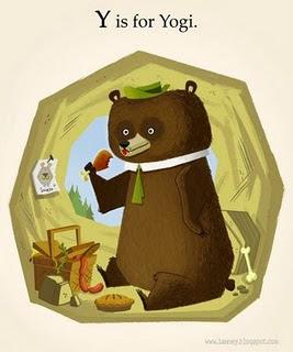 Yogi Bear by Steve Lambe