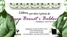 EXPOSICIÓ: Llibres per obra i gràcia de Josep Bernat i Baldoví