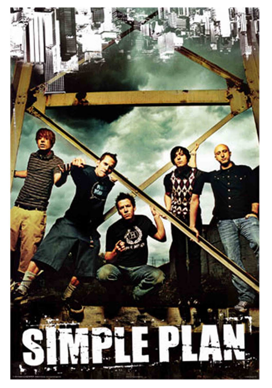 simple plan a french canadian pop punk David philippe desrosiers (born 29 august 1980) is a french canadian musician, who is best known as the bassist and backing vocalist for pop punk band simple plan.