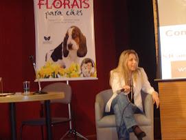 """Palestra """"Florais para Cães""""-Livraria Cultura Shopping Bourbon 18/09/09"""