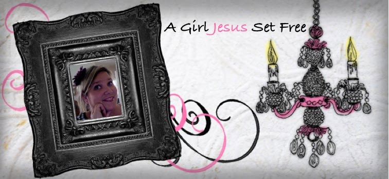A Girl Jesus Set Free.