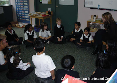 NAMC montessori circle time activities