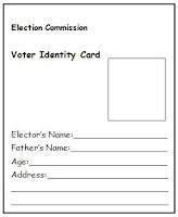 NAMC montessori culture activity introducing democratic elections voter identity card