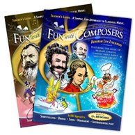 NAMC montessori music curriculum fun with composers program books