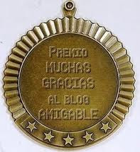 Premio al blog Amigable