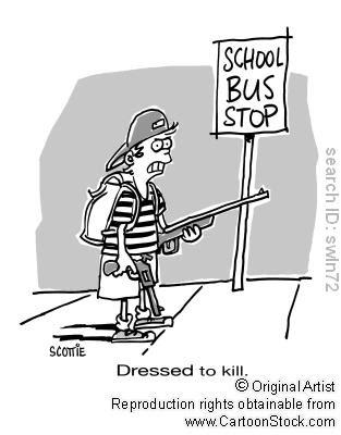 No more school violence essay