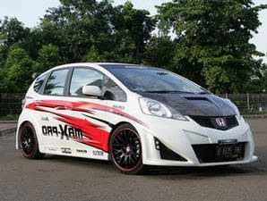 Honda Jazz aliran Toyota Crown JDM ~ Modification Honda Jazz