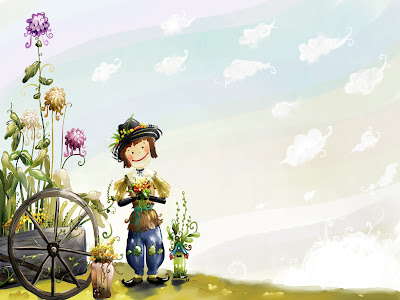Cute Cartoon Wallpaper 2012