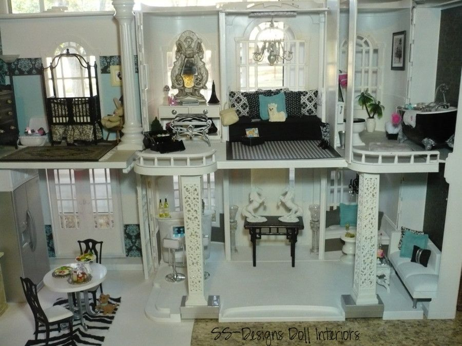 Inside The Barbie Craft Room Dollhouse Project