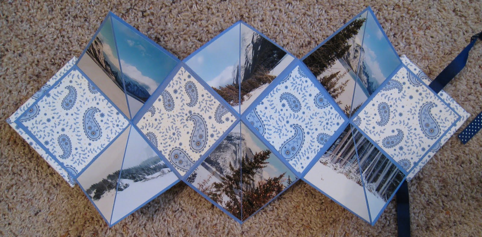 Daily life bits pieces canadian rockies origami mini album completed a quick and easy mini album today using another origami album that my younger sister made this one highlights some of the beautiful scenery solutioingenieria Gallery