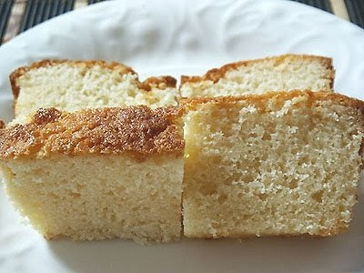 Condenced Pound Cake With No Baking Powder