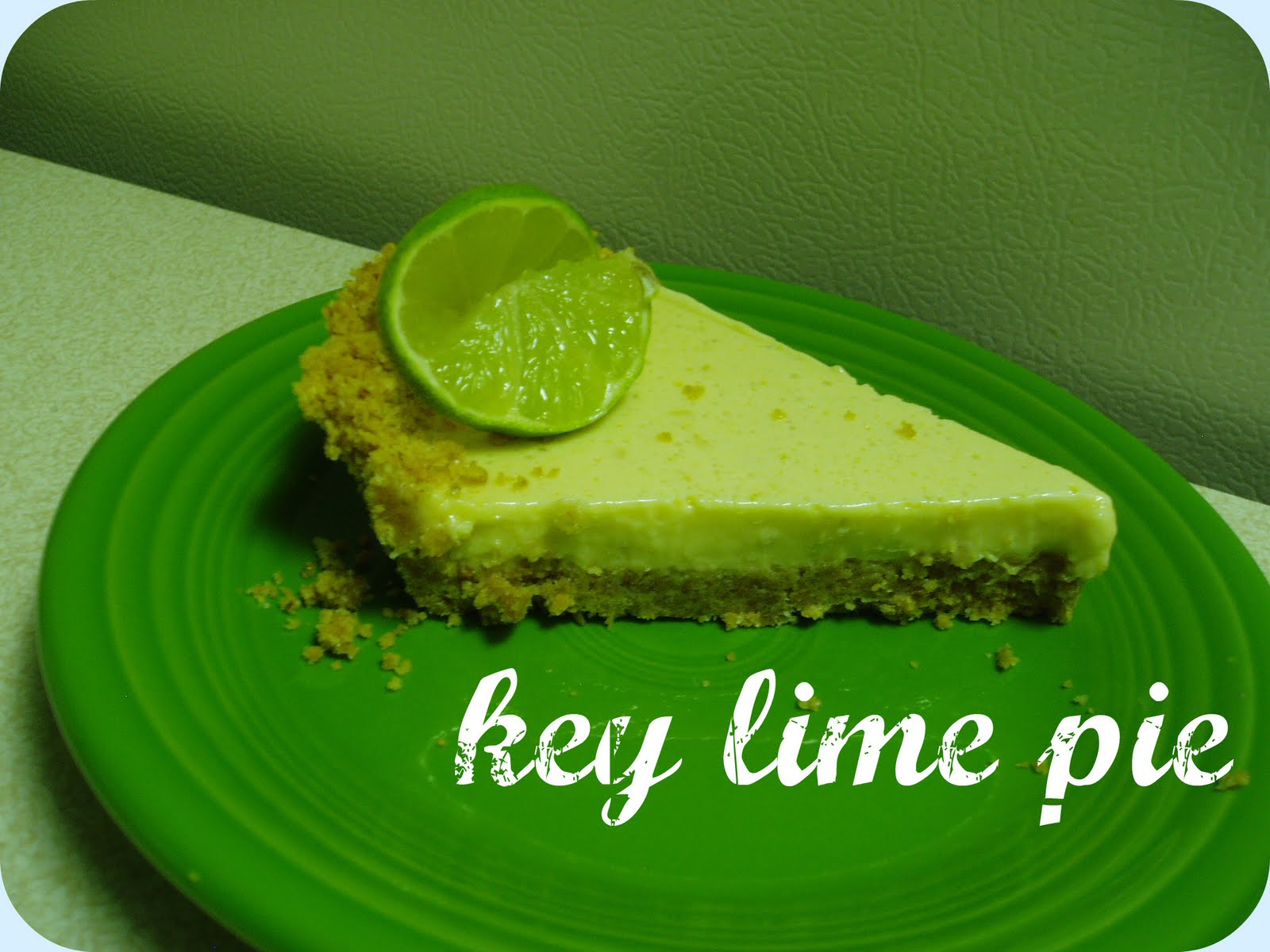Ahh, Key Lime Pie. How do I love thee? Let me count the ways...